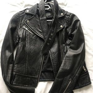 Mackage Aritzia Rumer Leather Jacket XXS